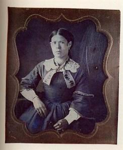 Daguerrotipo anónimo. Dama desconocida. 1850