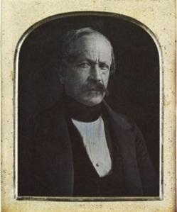 José María Obando. 1850. Daguerrotipo por Bennet.
