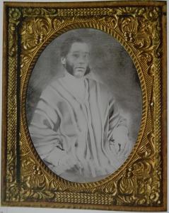 Esteban Isaza Robledo. Daguerrotipo Fermin Isaza, 1850