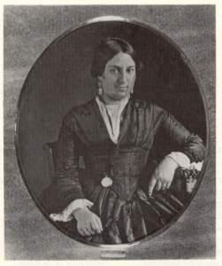 Filomena Uricoechea de Castro. Daguerrotipo. Evia. 1857
