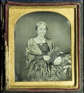 Froilana Saenz. Daguerrotipo por Herbruger.