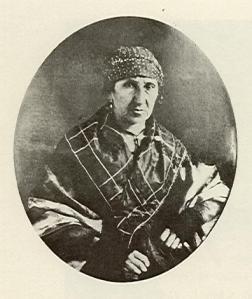 Josefa Santander de Briceño. Daguerrotipo.