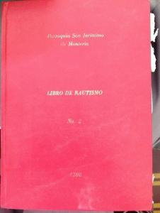 LibroBautismoNo2Monteria