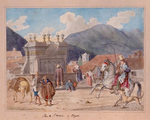 Plaza de San Victorino, 1824